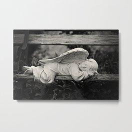 Sleeping Angel Metal Print