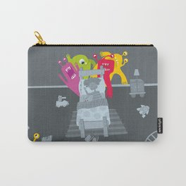 kid and ghosts Carry-All Pouch