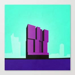 De Rotterdam Koolhaas Architecture Canvas Print