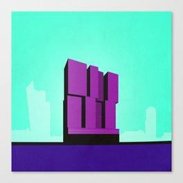 De Rotterdam Koolhaas Architecture Canvas Print
