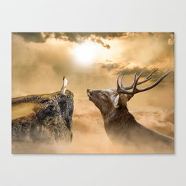 Big Venado Canvas Print