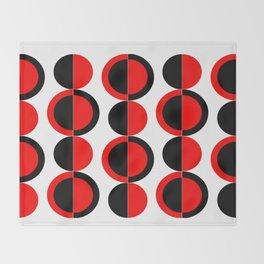 Mod Circles Throw Blanket