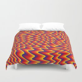 liquify illusion Duvet Cover
