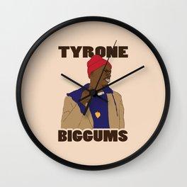 Tyrone Biggums Wall Clock