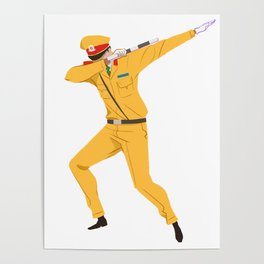 Vietnamese Traffic Cop Dab Poster