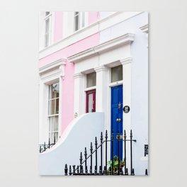 Pastel house Canvas Print