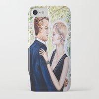 gatsby iPhone & iPod Cases featuring GATSBY - DAISY by Sam Parigi