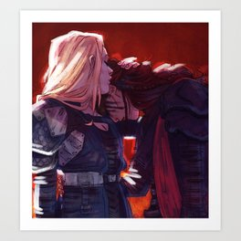 commanders Art Print
