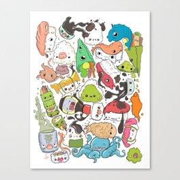 Sushi Bar: Point of Nori-turn Canvas Print