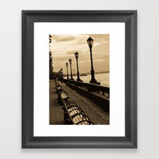 Hudson River Framed Art Print