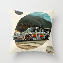 RWB Classic Throw Pillow