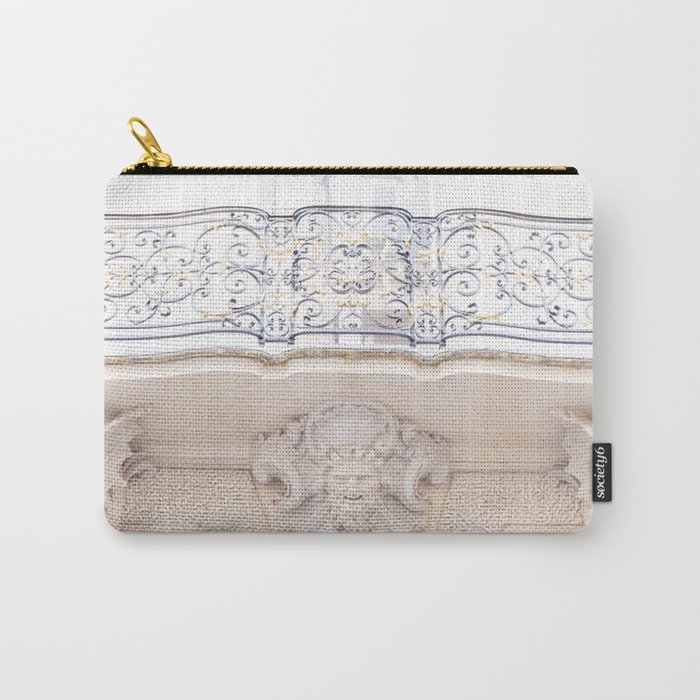 Beautiful Balcony in Paris France Carry-All Pouch