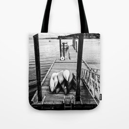 Sittin' on the Dock of the Bay Tote Bag
