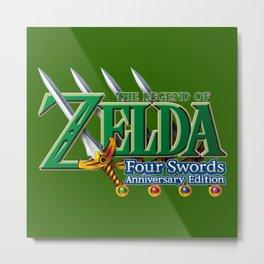 zelda sword Metal Print