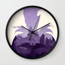Maleficent (II) Wall Clock