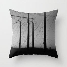 Luossavaara Throw Pillow