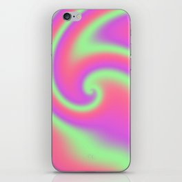 Tutti Frutti Ribbon Candy Fractal iPhone Skin