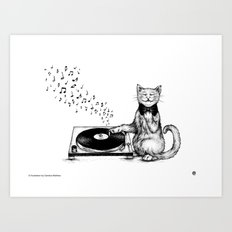 Music Master Art Print