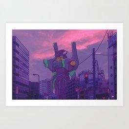UNIT-01 Art Print