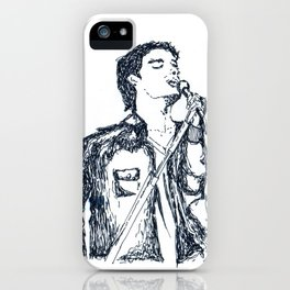 about him. iPhone Case