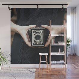Vintage Camera Wall Mural