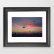 Marco Island Sunset Framed Art Print