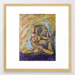 Nixe Framed Art Print