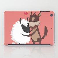 lamb iPad Cases featuring Lamb by Alfonso Cervantes