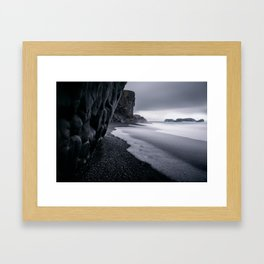 Silver  Tide Framed Art Print
