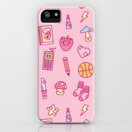 Teenage Romance iPhone Case