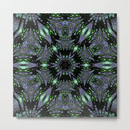 Unbelievable Mirror Mandala 4 Metal Print
