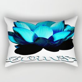 Lotus Flower Bomb Rectangular Pillow