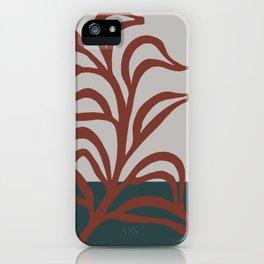 Big leaf 3 new colour art  iPhone Case