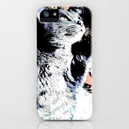 Dreaming Cat iPhone Case
