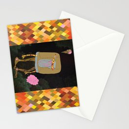 Silence Walks Stationery Cards