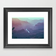 Early Morning Light - Grand Canyon South Rim Framed Art Print