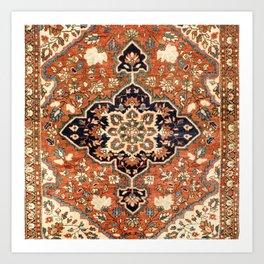 Sarouk Poshti Persian Rug Print Kunstdrucke