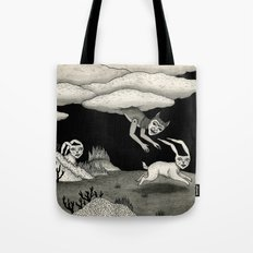 The Abduction Tote Bag