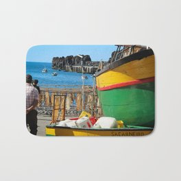 Watching the ships come in... Bath Mat