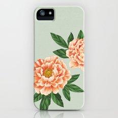 Peonies iPhone SE Slim Case