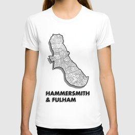 Hammersmith & Fulham - London Borough - Simple T-shirt