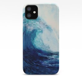 Waves II iPhone Case
