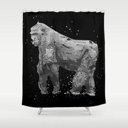 Bursting Gorilla Shower Curtain