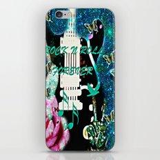 Peace Love and Rock n Roll #3 iPhone & iPod Skin