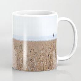 Reeds On A Foggy Autumn's Day Coffee Mug