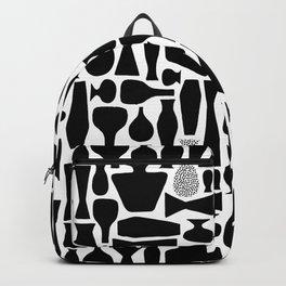 Black Vases Backpack