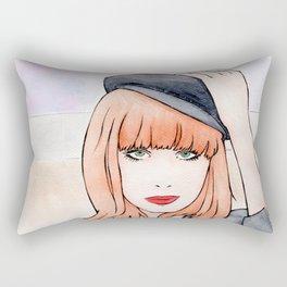 Miss P. Rectangular Pillow