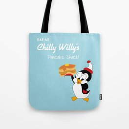 Chilly Willy Tote Bag