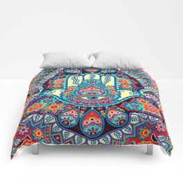 Hamsa Hand Comforters