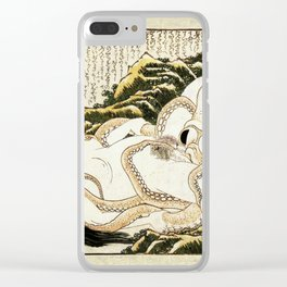 Dream of the Fisherman's Wife - Mad Men Clear iPhone Case